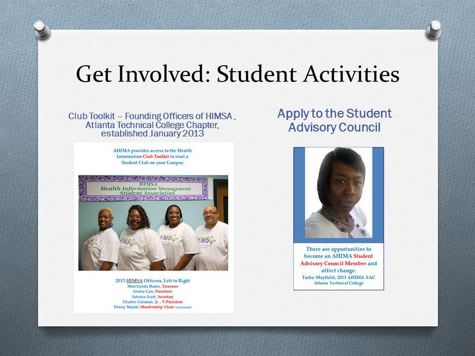 Get Involved: Student Activities