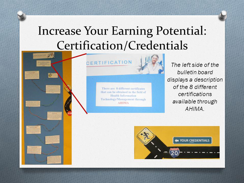 Increase Your Earning Potential: Certification/Credentials