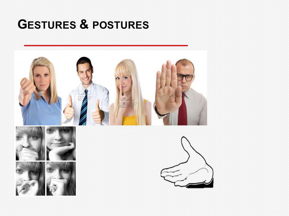 Gestures & postures