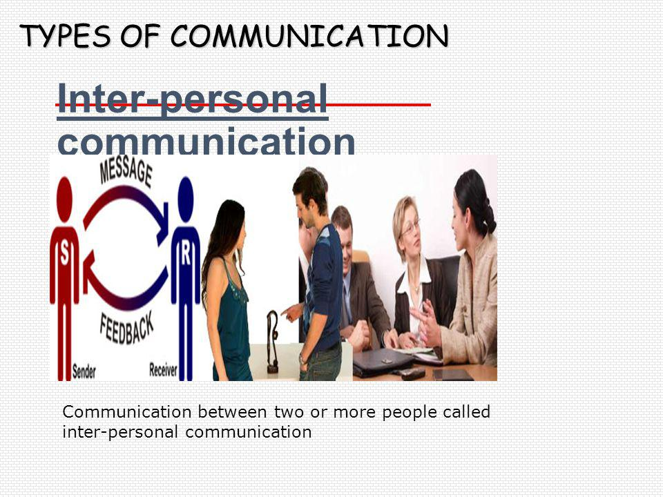 Inter-personal communication
