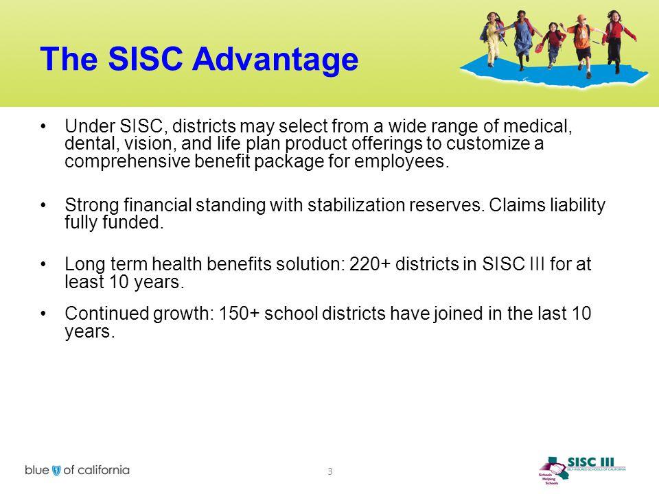 The SISC Advantage