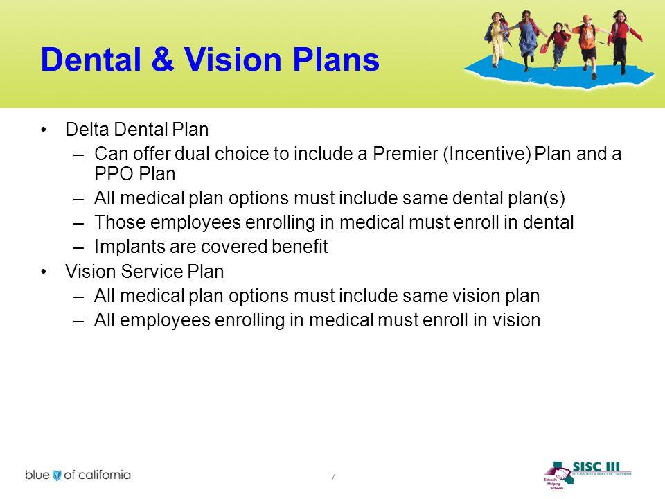 Dental & Vision Plans Delta Dental Plan