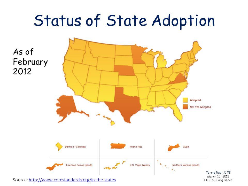 Status of State Adoption