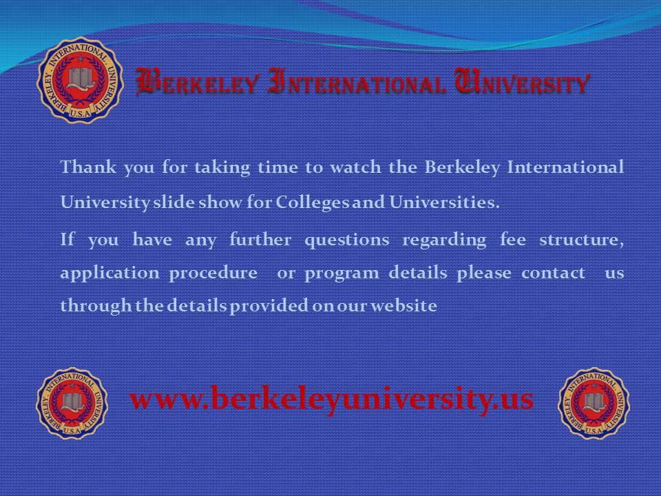 Berkeley International University