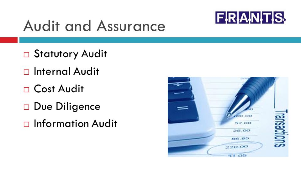 Audit and Assurance Statutory Audit Internal Audit Cost Audit