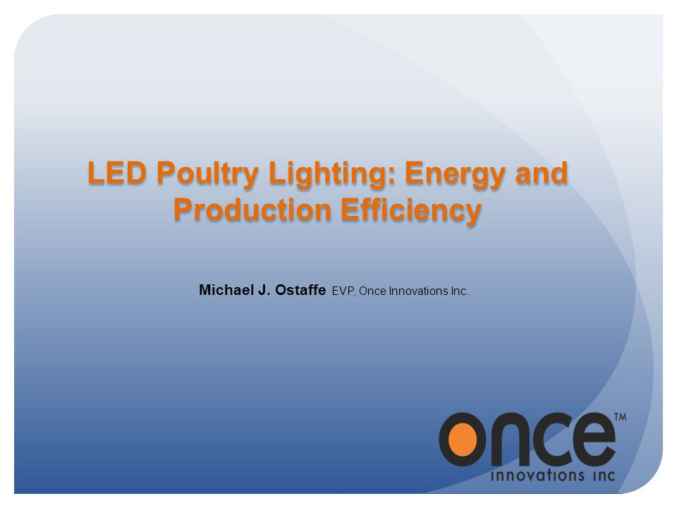 LED Poultry Lighting: Energy and Production Efficiency
