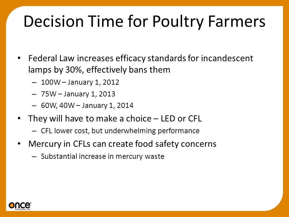 Decision Time for Poultry Farmers