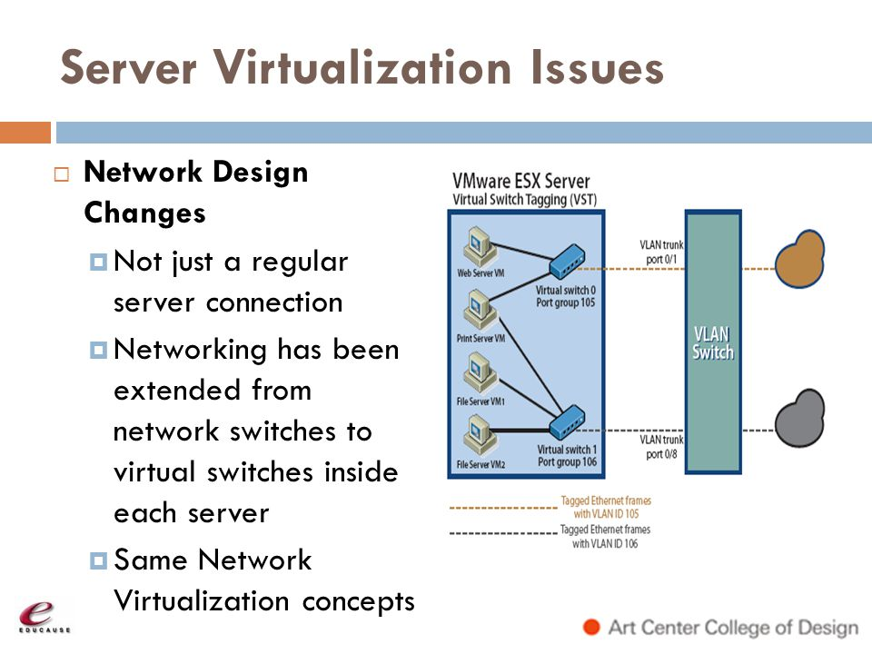 Server Virtualization Issues