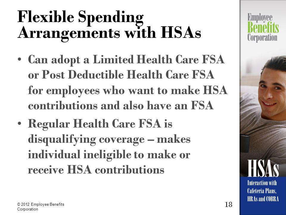 Flexible Spending Arrangements with HSAs