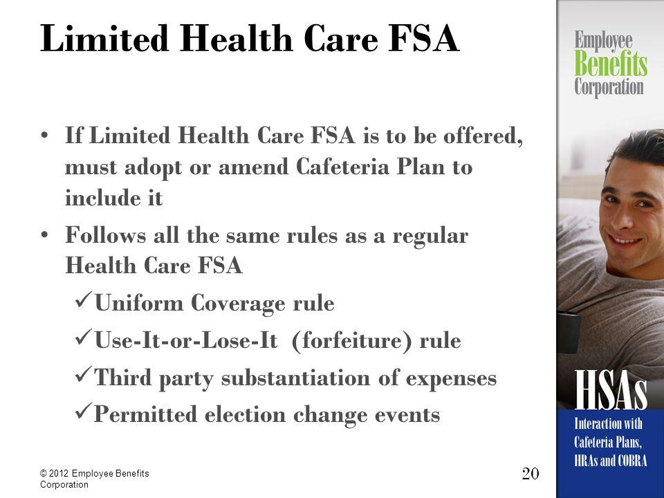 Limited Health Care FSA