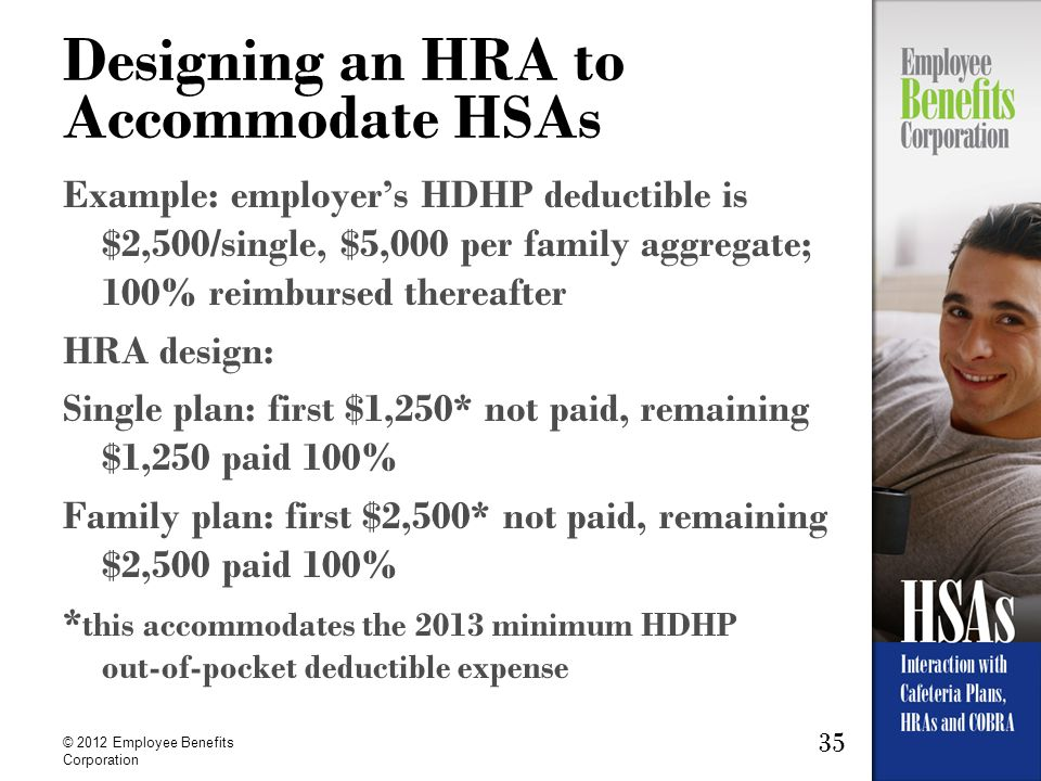 Designing an HRA to Accommodate HSAs