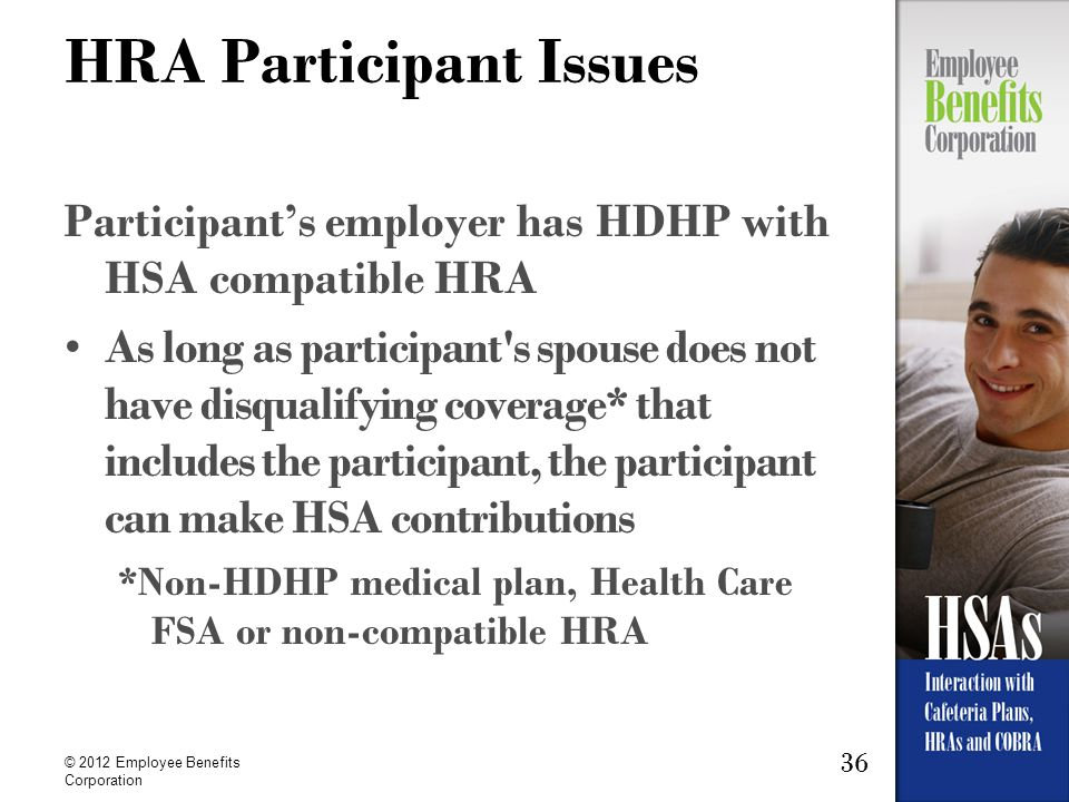 HRA Participant Issues