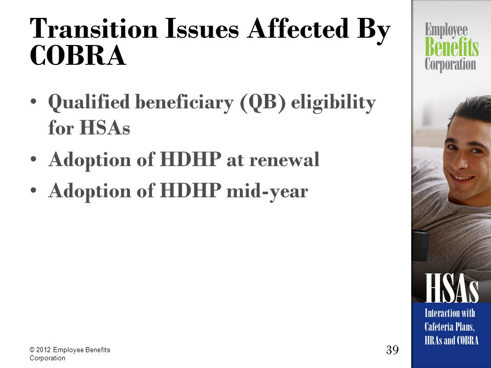 Transition Issues Affected By COBRA