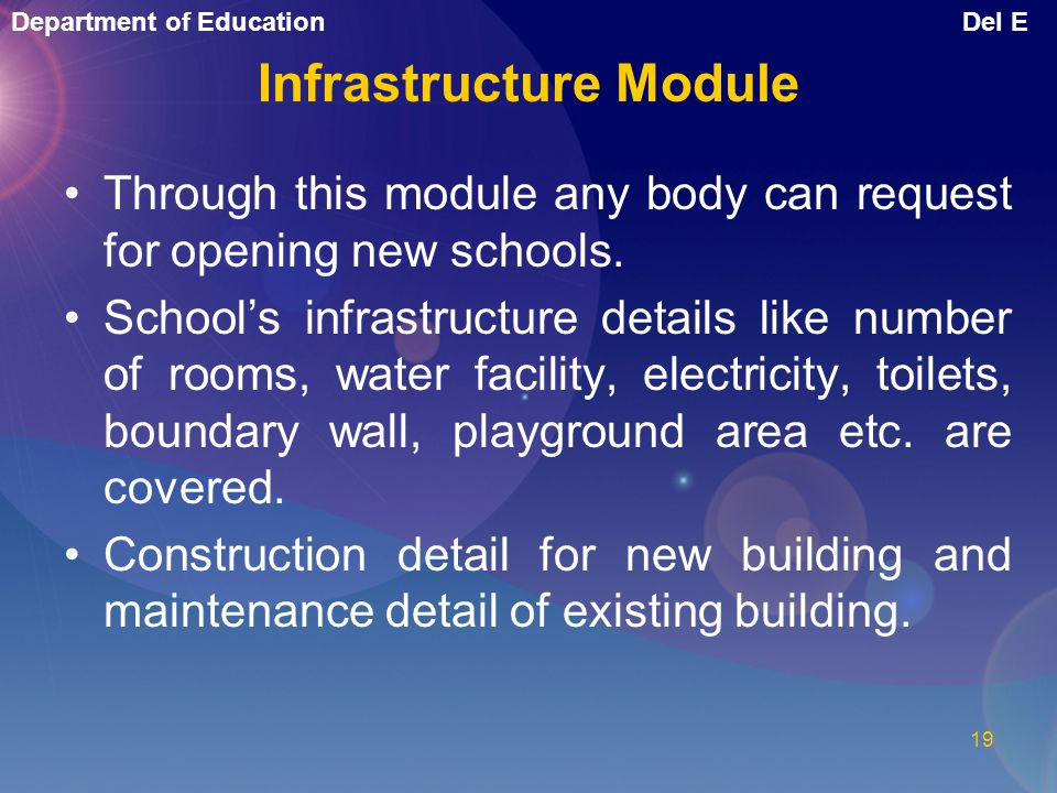 Infrastructure Module