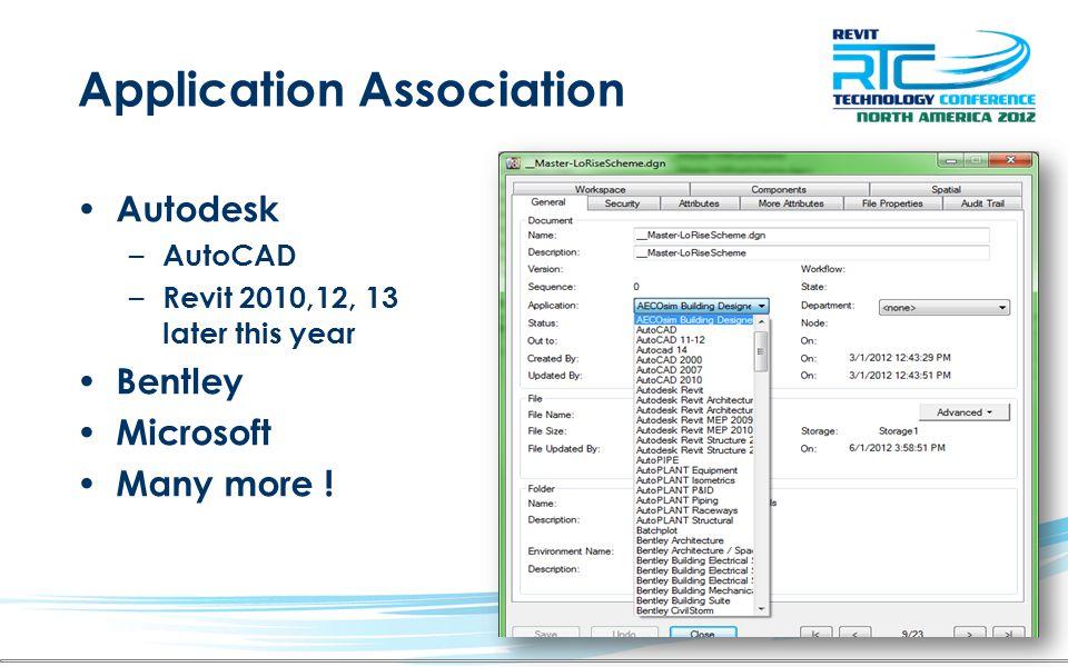 Application Association