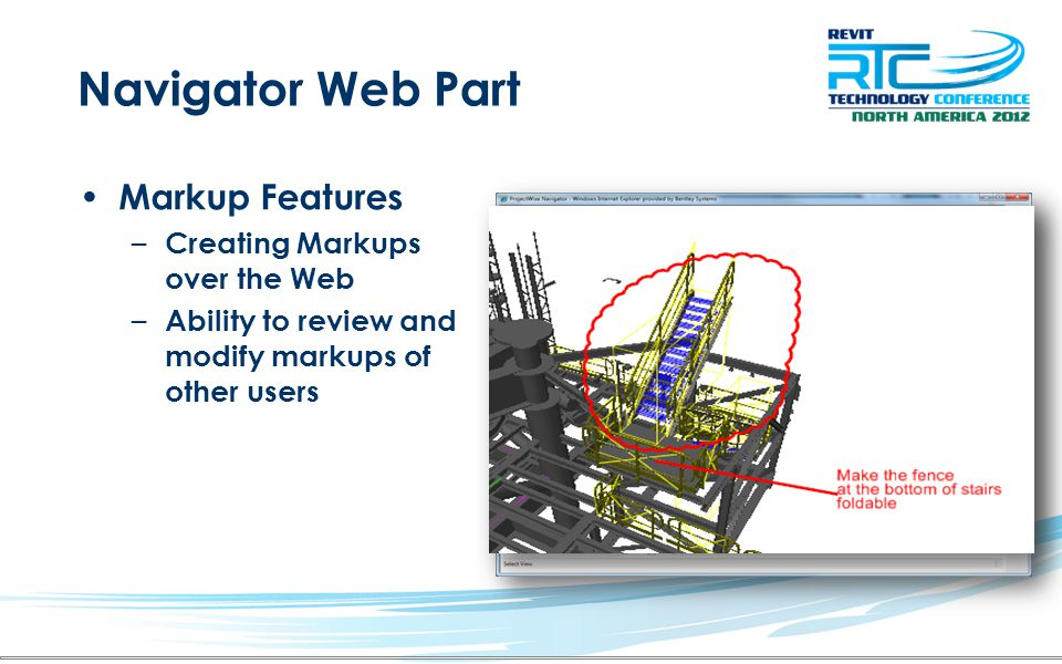 Navigator Web Part Markup Features Creating Markups over the Web