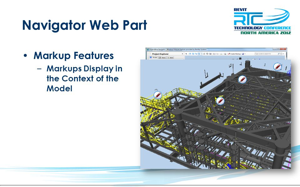 Navigator Web Part Markup Features