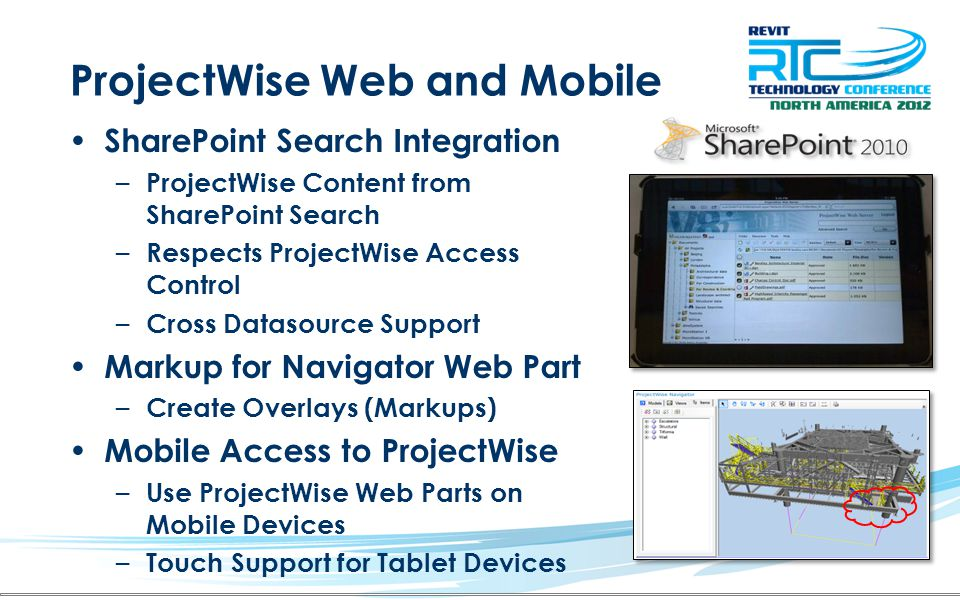 ProjectWise Web and Mobile