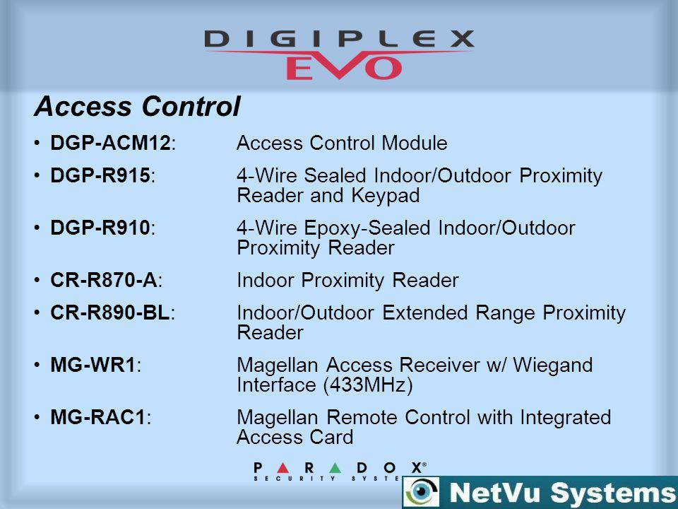 Access Control DGP-ACM12: Access Control Module