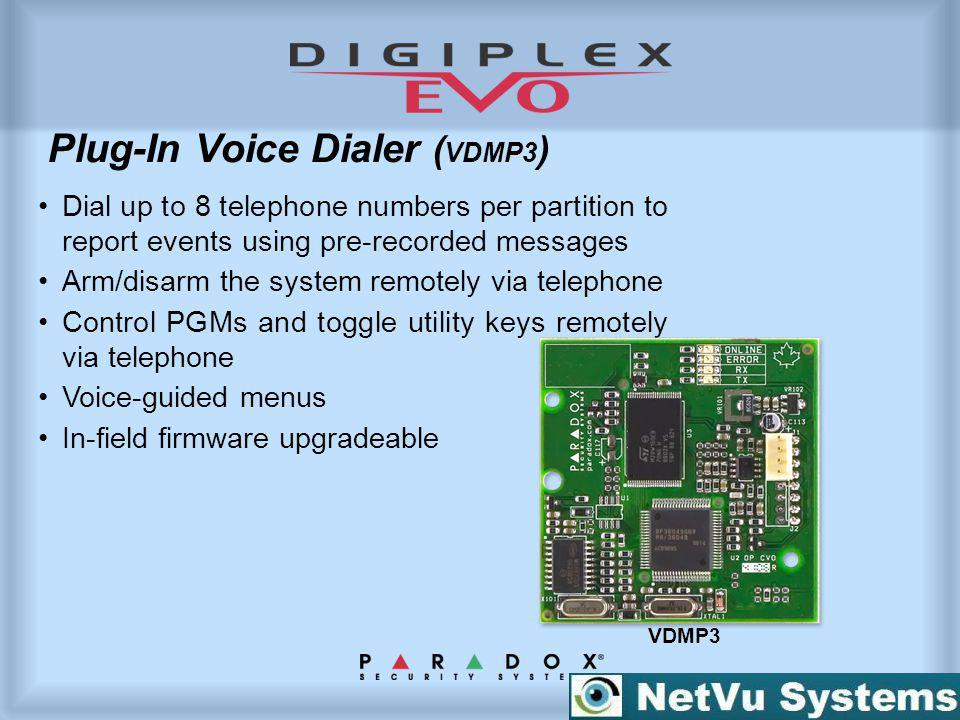 Plug-In Voice Dialer (VDMP3)