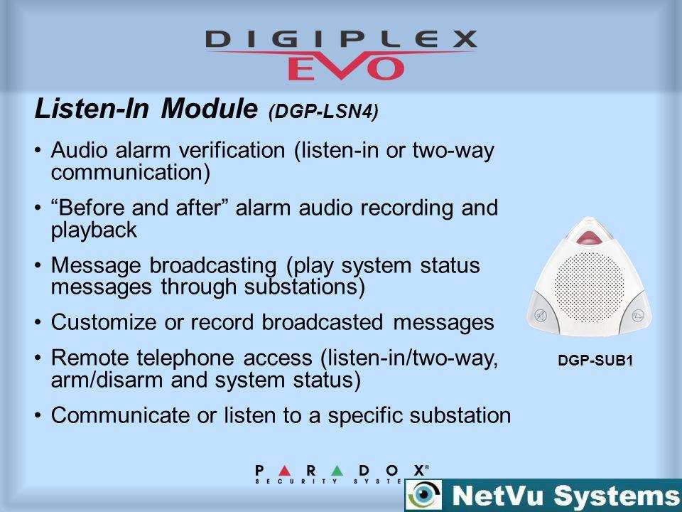 Listen-In Module (DGP-LSN4)