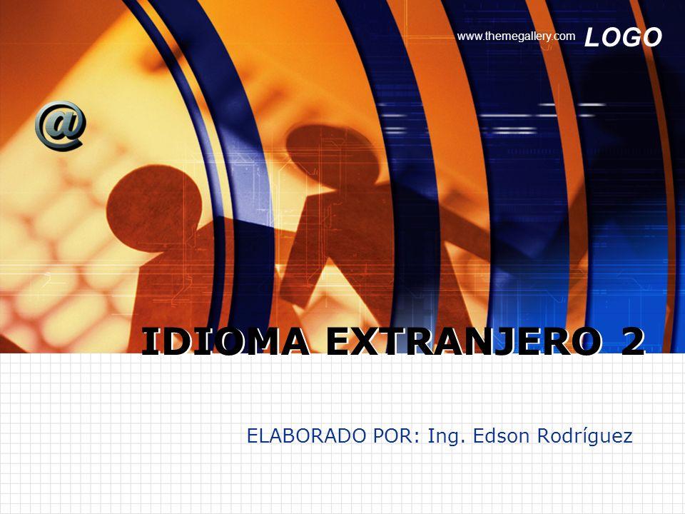 ELABORADO POR: Ing. Edson Rodríguez