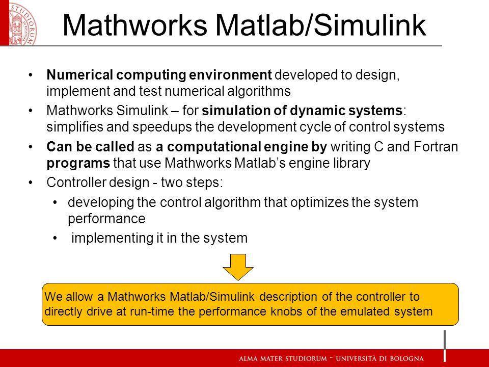 Mathworks Matlab/Simulink