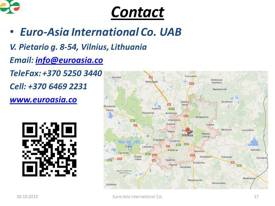 Euro-Asia International Co.