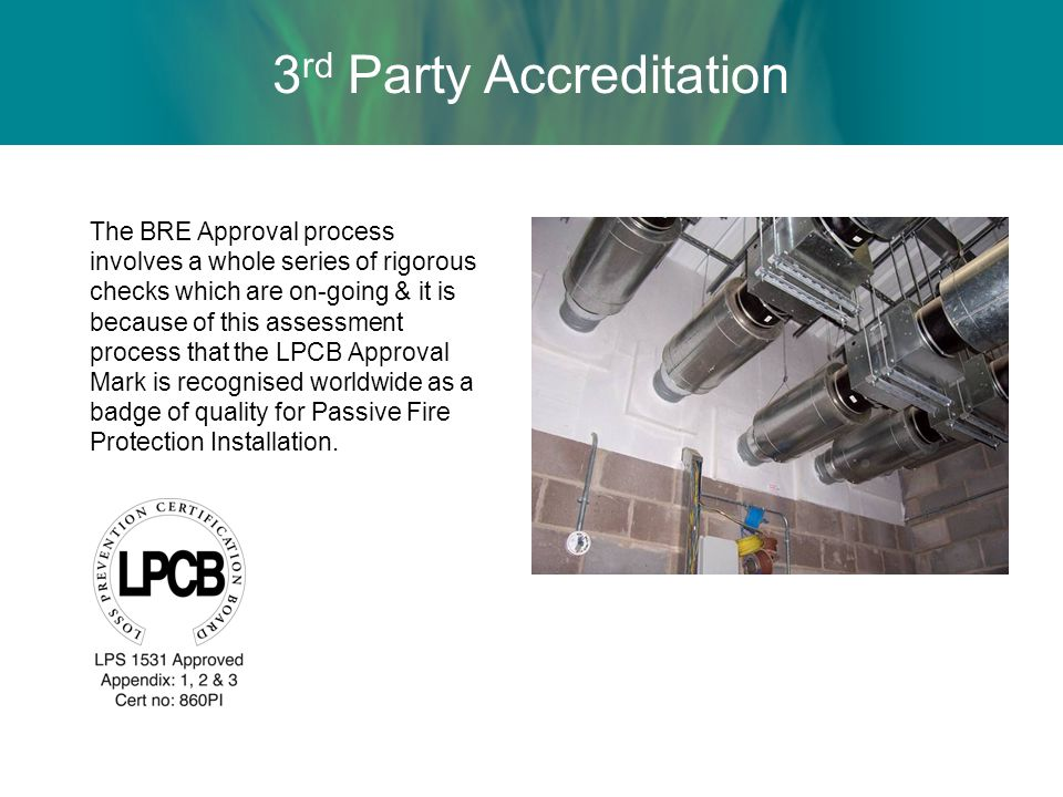 3rd Party Accreditation