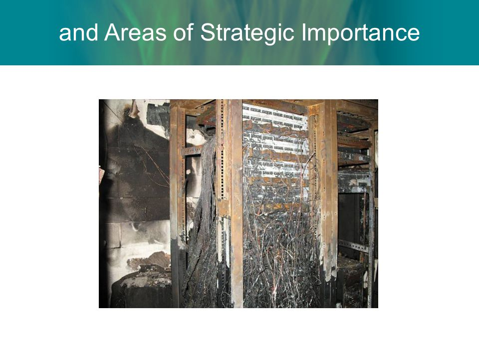 and Areas of Strategic Importance