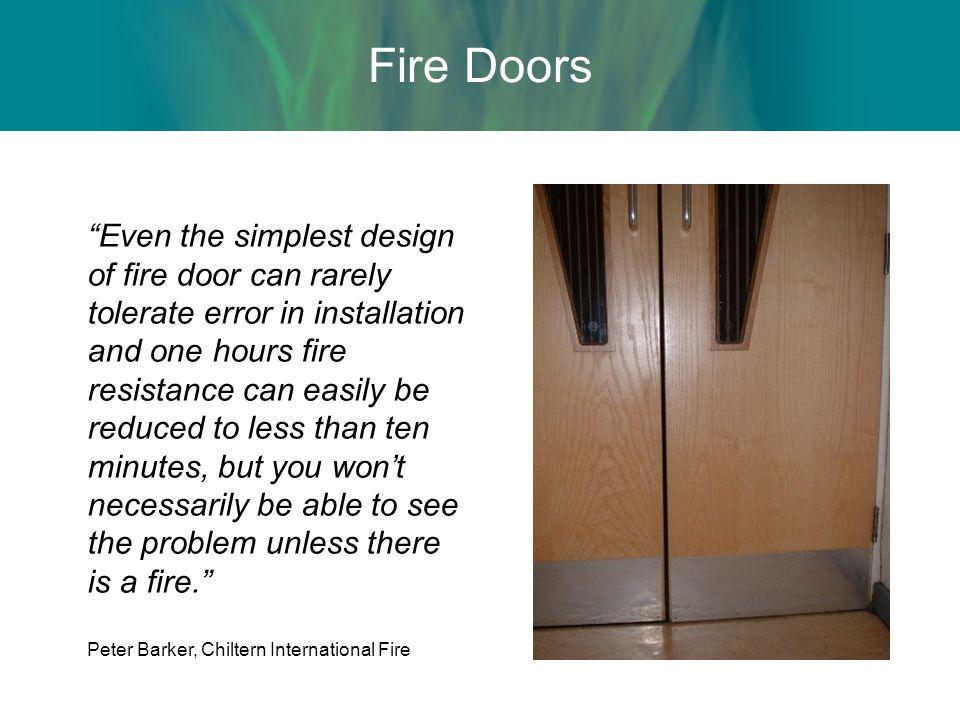 Fire Door Failure : Passive fire protection presentation ppt video online
