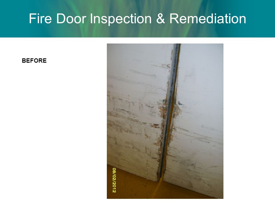 Fire Door Inspection & Remediation