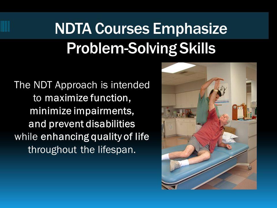NDTA Courses Emphasize Problem-Solving Skills