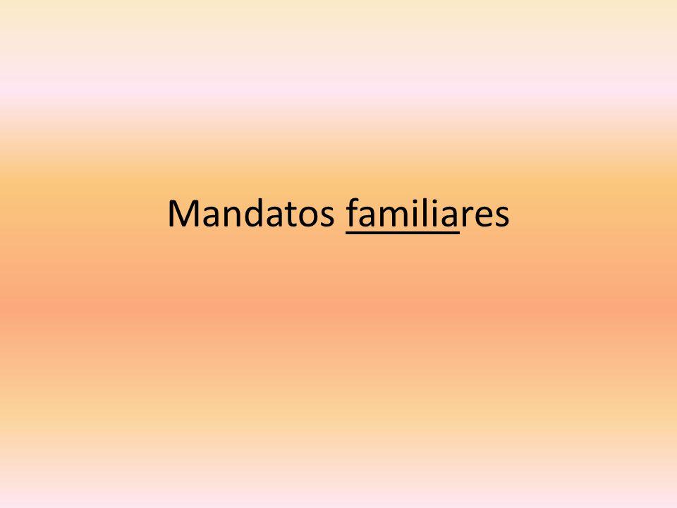 Mandatos familiares