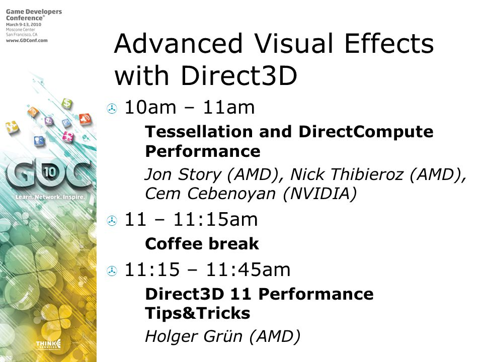Advanced Visual Effects with Direct3D