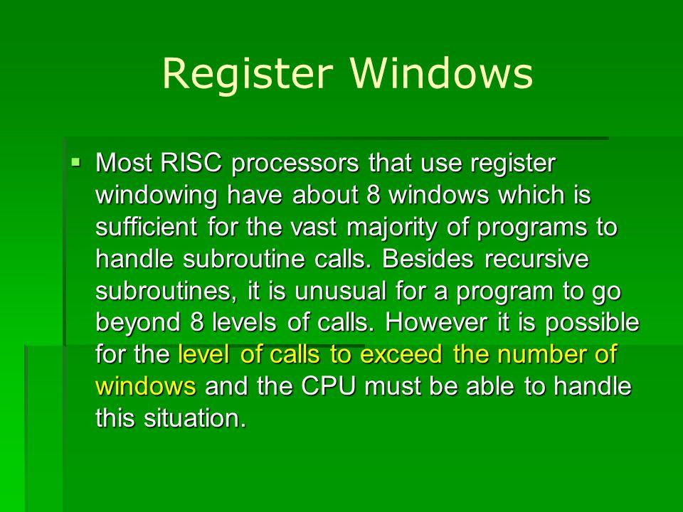 Register Windows