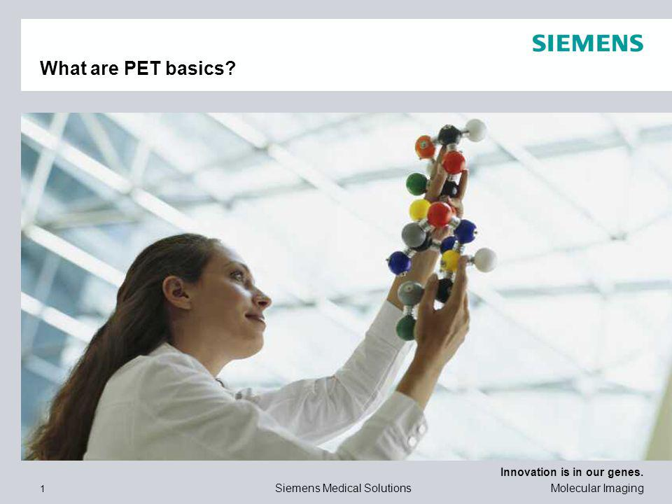 What are PET basics