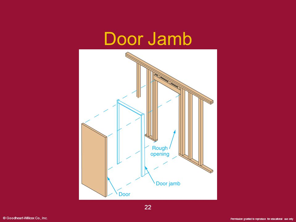 Door Jamb 22