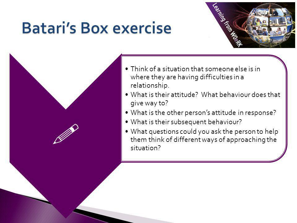  Batari's Box exercise