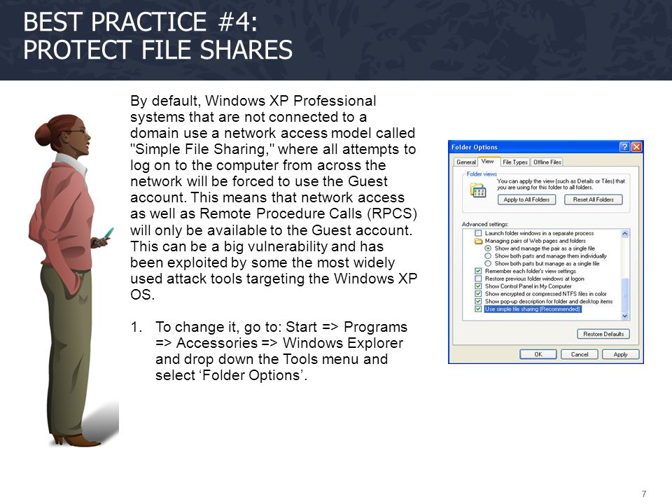 Best Practice #4: Protect file shares
