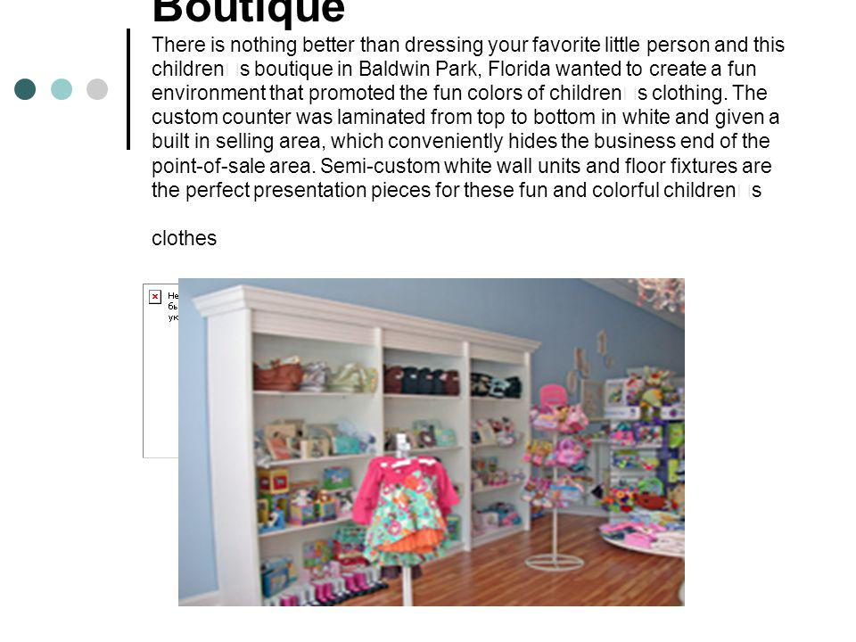 Lulu Belle s Children s Boutique There is nothing better than dressing your favorite little person and this children's boutique in Baldwin Park, Florida wanted to create a fun environment that promoted the fun colors of children's clothing.