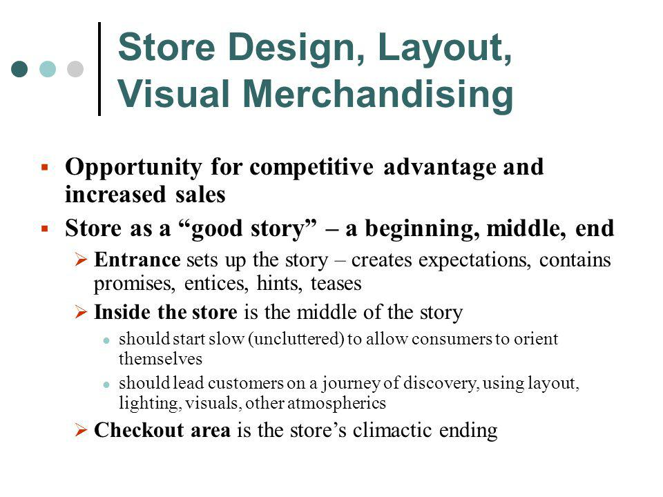 Store Design, Layout, Visual Merchandising