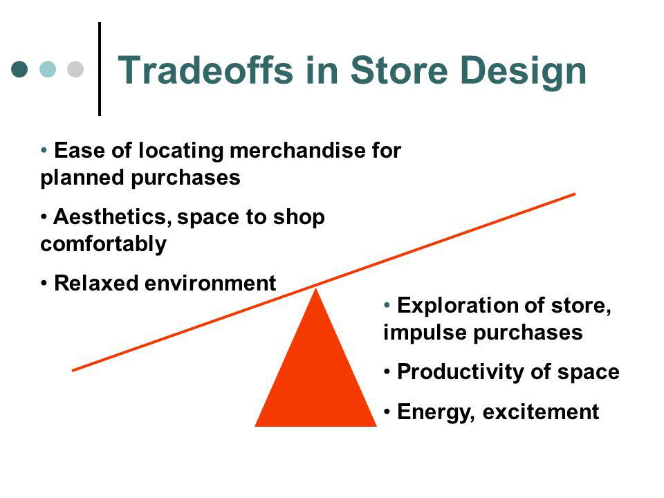 Tradeoffs in Store Design