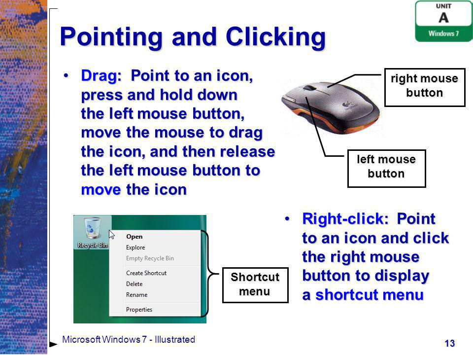 Pointing and Clicking