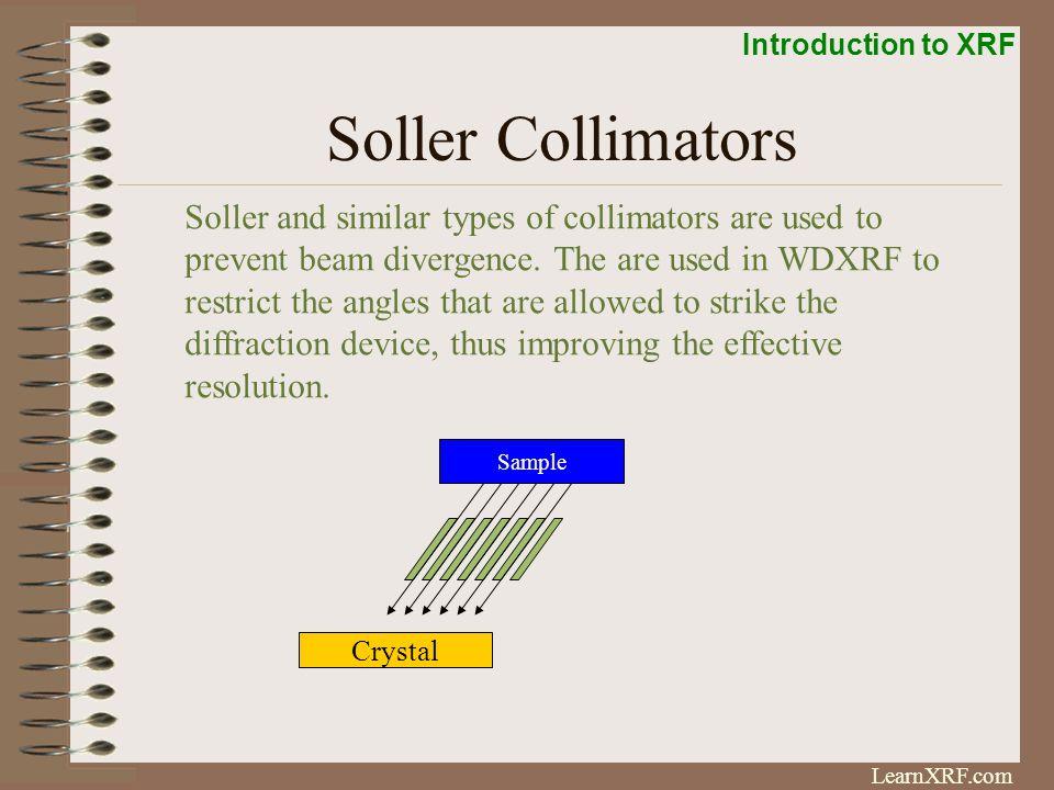 Soller Collimators