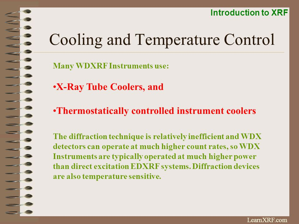 Cooling and Temperature Control