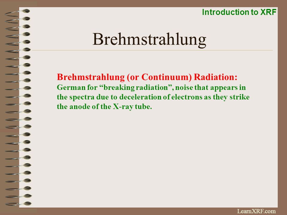 Brehmstrahlung