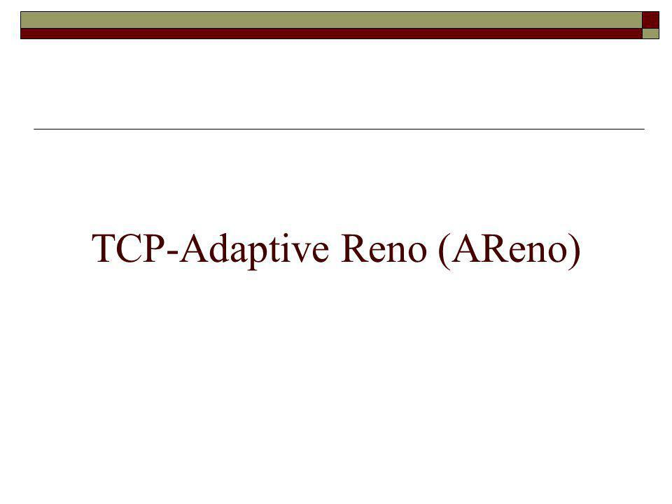 TCP-Adaptive Reno (AReno)