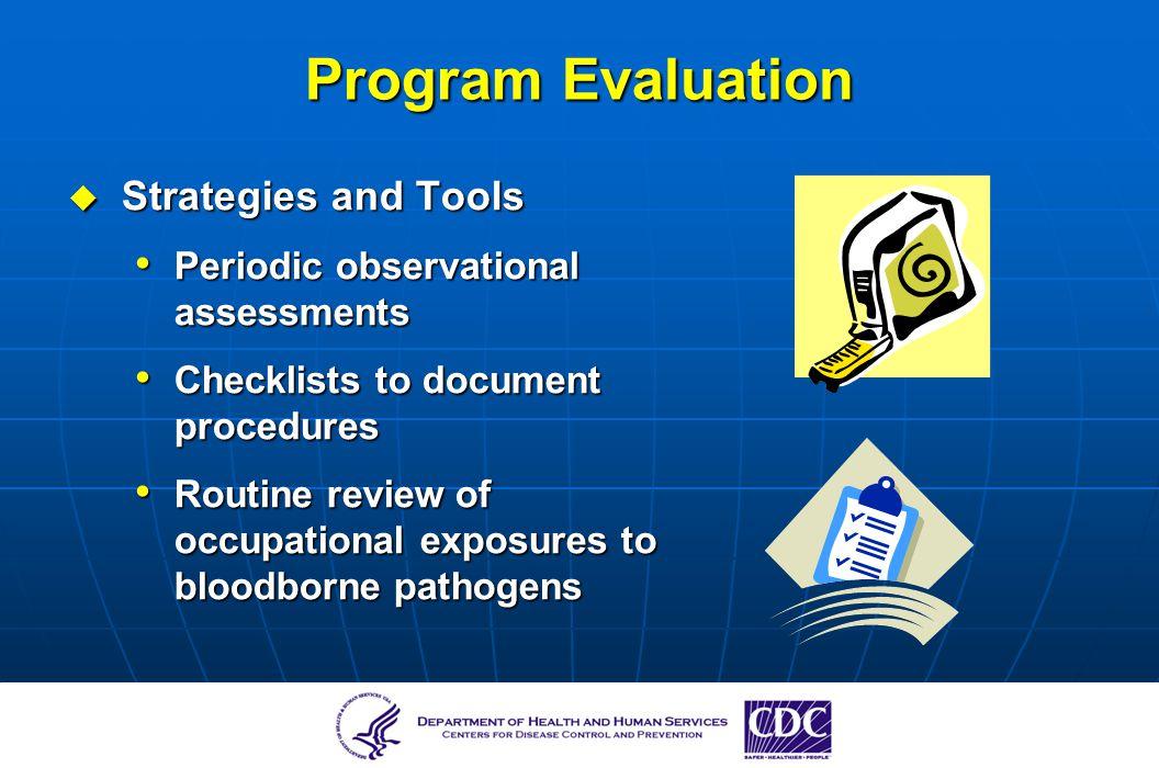 Program Evaluation Strategies and Tools
