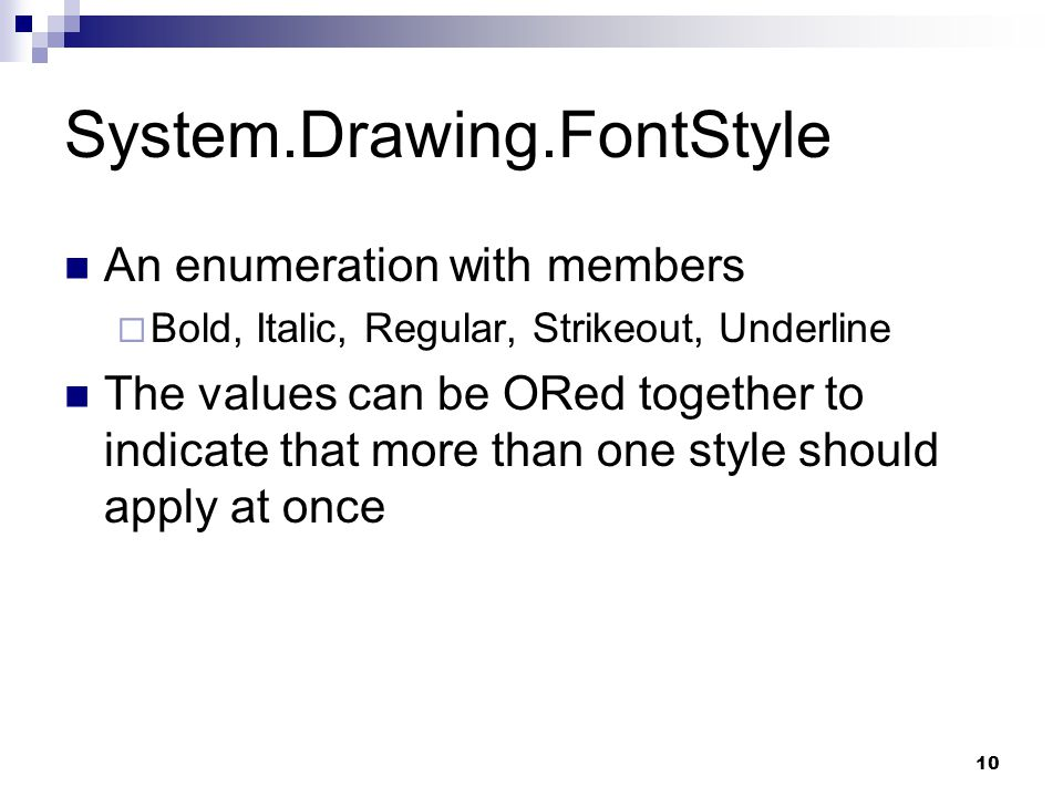 System.Drawing.FontStyle